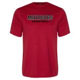 Performance Red Tee-Matadors Basketball