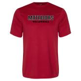 Performance Red Tee-Matadors Volleyball