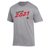 Champion Grey T Shirt-CSUN Class of 2021