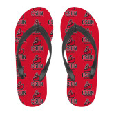 Full Color Flip Flops-CSUN Matador
