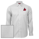Red House White Diamond Dobby Long Sleeve Shirt-Matador