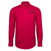Red House Red Long Sleeve Shirt-Matador