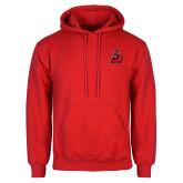 Red Fleece Hoodie-Matador