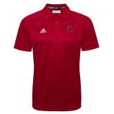 Adidas Climalite Red Jacquard Select Polo-Matador