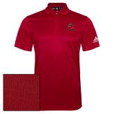 Adidas Climalite Red Grind Polo-Matador