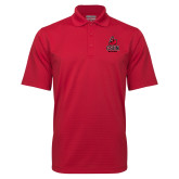 Red Mini Stripe Polo-CSUN Matador