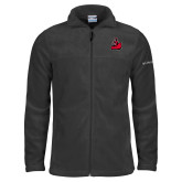 Columbia Full Zip Charcoal Fleece Jacket-Matador