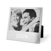 Silver 5 x 7 Photo Frame-CSUN Engraved
