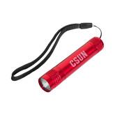 Pluto Red Slim Flashlight-CSUN Engraved
