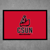 Full Color Indoor Floor Mat-CSUN Matador