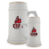 Full Color Decorative Ceramic Mug 22oz-CSUN Matador