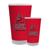 Full Color Glass 17oz-CSUN Matador