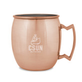 Copper Mug 16oz-CSUN Matador Engraved