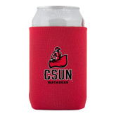 Neoprene Red Can Holder-CSUN Matador