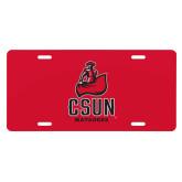 License Plate-CSUN Matador