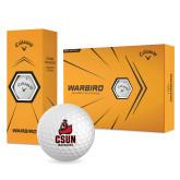 Callaway Warbird Golf Balls 12/pkg-CSUN Matador