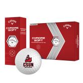 Callaway Chrome Soft Golf Balls 12/pkg-CSUN Matador