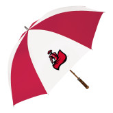 62 Inch Red/White Vented Umbrella-Matador