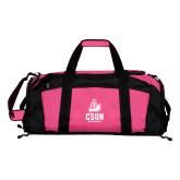 Tropical Pink Gym Bag-CSUN Matador