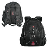 Wenger Swiss Army Mega Black Compu Backpack-CSUN Matador