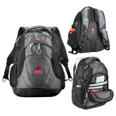 Wenger Swiss Army Tech Charcoal Compu Backpack-CSUN Matador