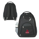 The Ultimate Black Computer Backpack-CSUN Matador