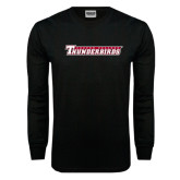 Black Long Sleeve TShirt-Casper College Thunderbirds