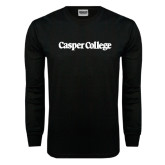 Black Long Sleeve TShirt-Casper College