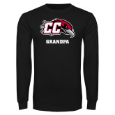 Black Long Sleeve TShirt-Grandpa