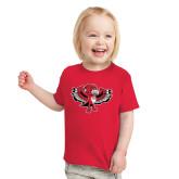 Toddler Red T Shirt-Thunderbird Youth Mark