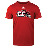 Adidas Red Logo T Shirt-CC with Thunderbird