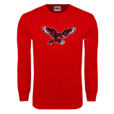 Red Long Sleeve T Shirt-Thunderbird