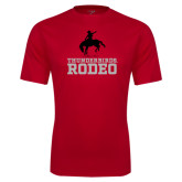 Performance Red Tee-Rodeo