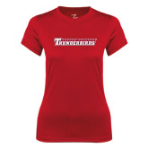 Ladies Syntrel Performance Red Tee-Casper College Thunderbirds