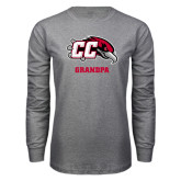 Grey Long Sleeve T Shirt-Grandpa