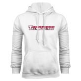 White Fleece Hoodie-Casper College Thunderbirds