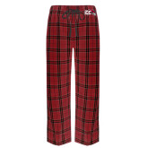 Red/Black Flannel Pajama Pant-CC with Thunderbird