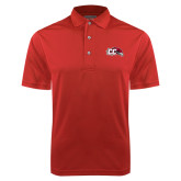 Red Dry Mesh Polo-CC with Thunderbird