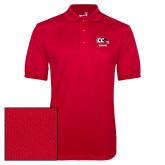 Red Dry Mesh Polo-Alumni