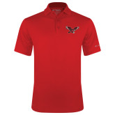 Columbia Red Omni Wick Drive Polo-Thunderbird