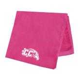 Pink Beach Towel-CC with Thunderbird