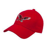 Red Heavyweight Twill Pro Style Hat-Thunderbird