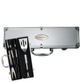 Grill Master 3pc BBQ Set-Casper College Thunderbirds Engraved