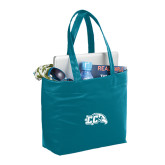 Fine Society Teal Computer Tote-CC with Thunderbird