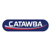 Large Decal-Catawba with Swoop, 12 inches tall