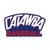 Small Decal-Baseball, 6 inches wide