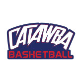 Small Decal-Basketball, 6 inches wide