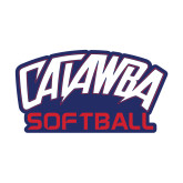 Small Decal-Softball, 6 inches wide