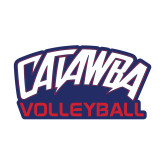 Small Decal-Volleyball, 6 inches wide