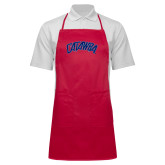Full Length Red Apron-Catawba Primary Mark